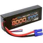 Power Hobby 2S 7.4V 8000Mah 100C (200C Burst) Lipo Battery W/ Ec5 Plug