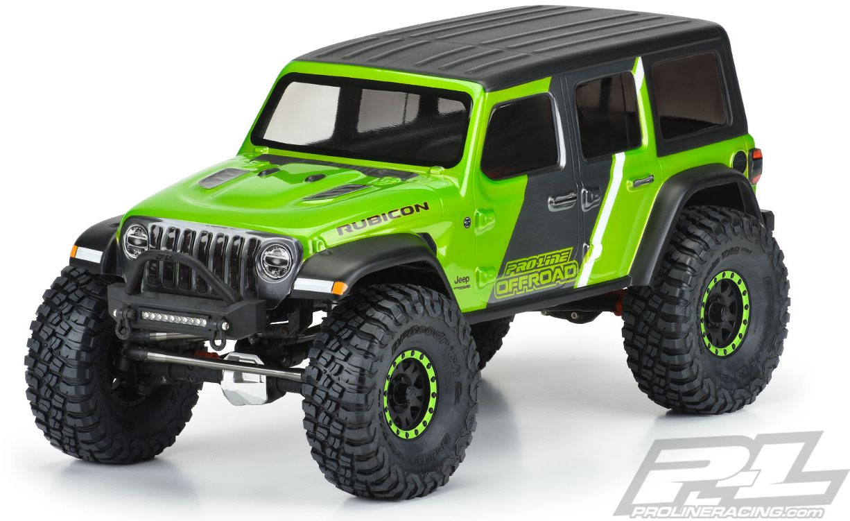 """Proline Jeep Wrangler Jl Unlimited Rubicon Clear Body, For 12.3\"""" (313Mm)"""