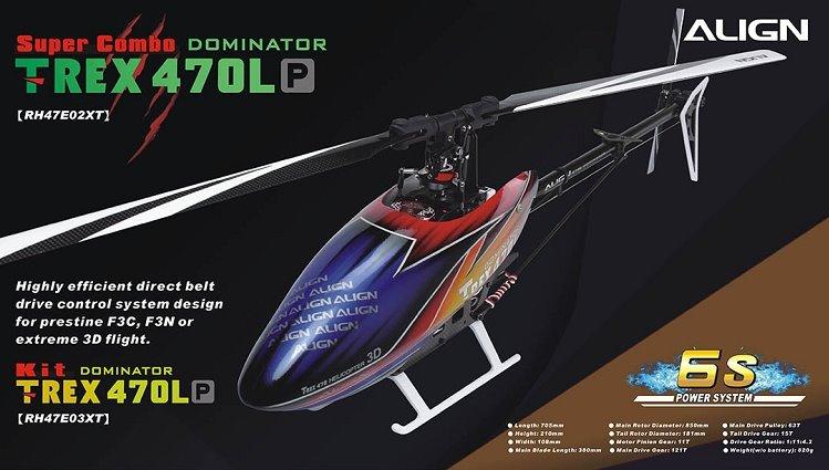 Align T-REX 470LP Super Combo