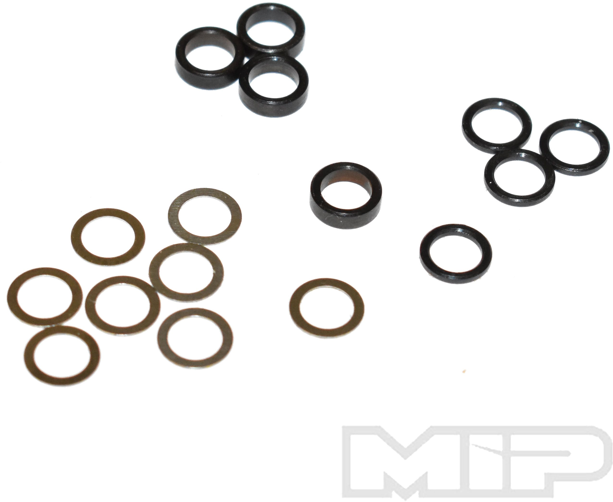 More\'s Ideal Products 5Mm Steel Spacer Kit, .25Mm, 1.0Mm, & 2.3Mm