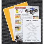 Micro Drips Paint Mask