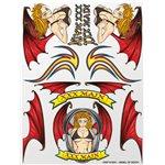 Angel Of Death Sticker Sheet