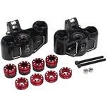 Hot Racing Triple Bearing Support Steering Blocks, For Arrma 1/5
