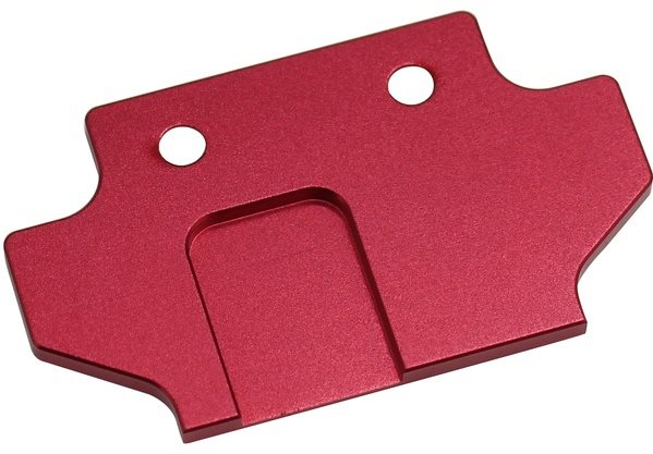 Hot Racing Aluminum Flush Fit Skid Plate Mount, For Aon