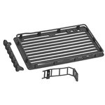 RC 4WD Roof Rack with Light Set & Ladder: Axial SCX24 1/24 Wrangler