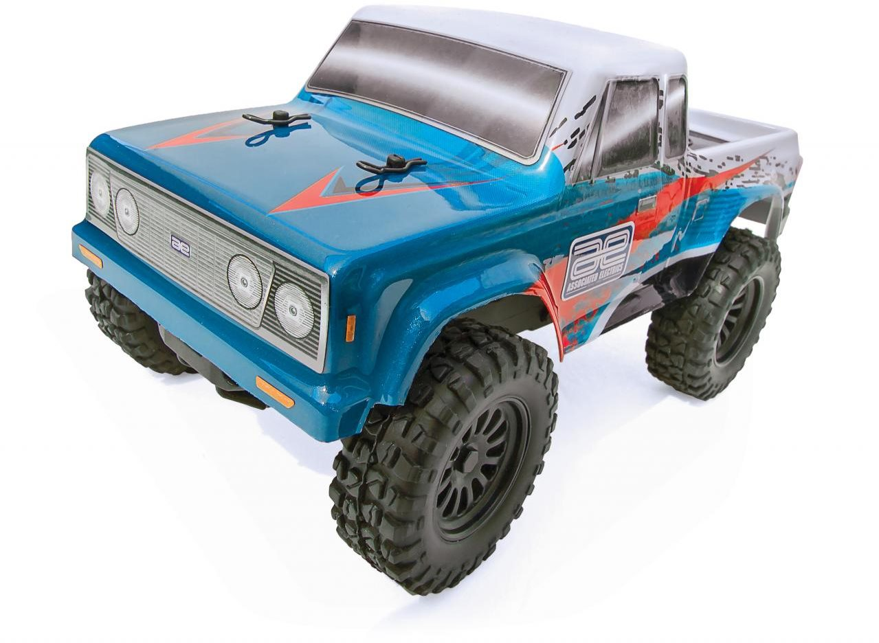 Associated Cr28 Rtr Truck, 1/28 Scale, 2Wd, W/ Battery, Charger And Radio