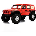 Axial 1/10 SCX10 III Jeep JLU Wrangler with Portals RTR, Orange