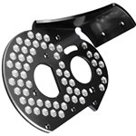 J Concepts Rc10 Aluminum Rear Motor Plate, Honeycomb, Black