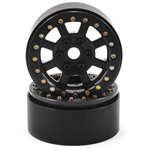 SSD RC SSD RC Assassin 1.9 Beadlock Crawler Wheels (Black) (2)