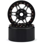 "SSD RC 1.9"" Prospect Beadlock Wheels (Grey) (2)"