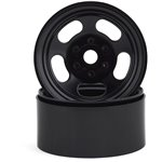 SSD RC Slot 1.9 Steel Beadlock Wheels (Black)