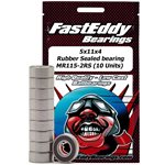 Fast Eddy Traxxas 5116 Rubber Sealed Replacement Bearing 5X11x4mm (10)