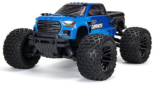 ARRMA 1/10 GRANITE 4X4 V3 MEGA 550 Brushed Monster Truck RTR, Blue