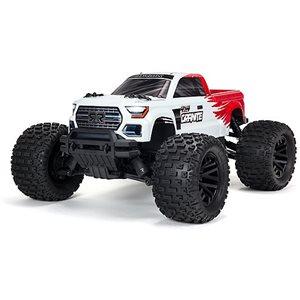ARRMA 1/10 GRANITE 4X4 V3 MEGA 550 Brushed Monster Truck RTR, Red
