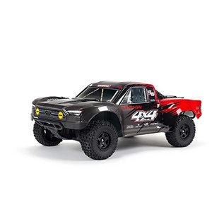 ARRMA 1/10 SENTON 4X4 V3 MEGA 550 Brushed Short Course Truck RTR, Red