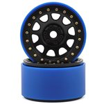 SSD RC 2.2 D Hole PL Beadlock Wheels (Black) (2) (Pro-Line Tires)