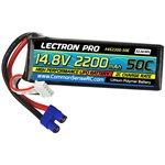Common Sense RC Lectron Pro 14.8V 2200mAh 50C Lipo Battery with EC3 Connector fo