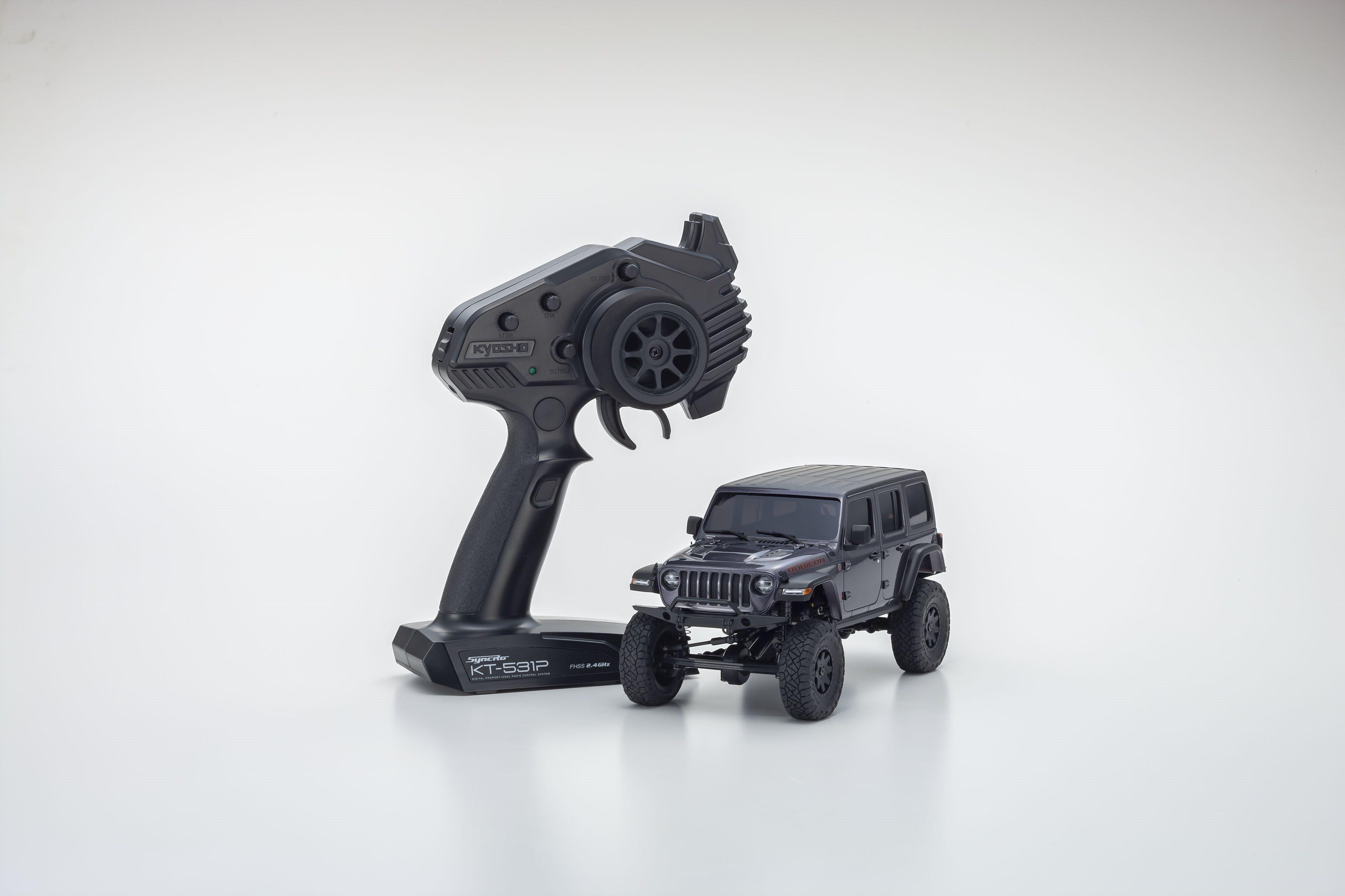 Kyosho Mini-Z 4X4 Jeep Wrangler Rubicon Grey