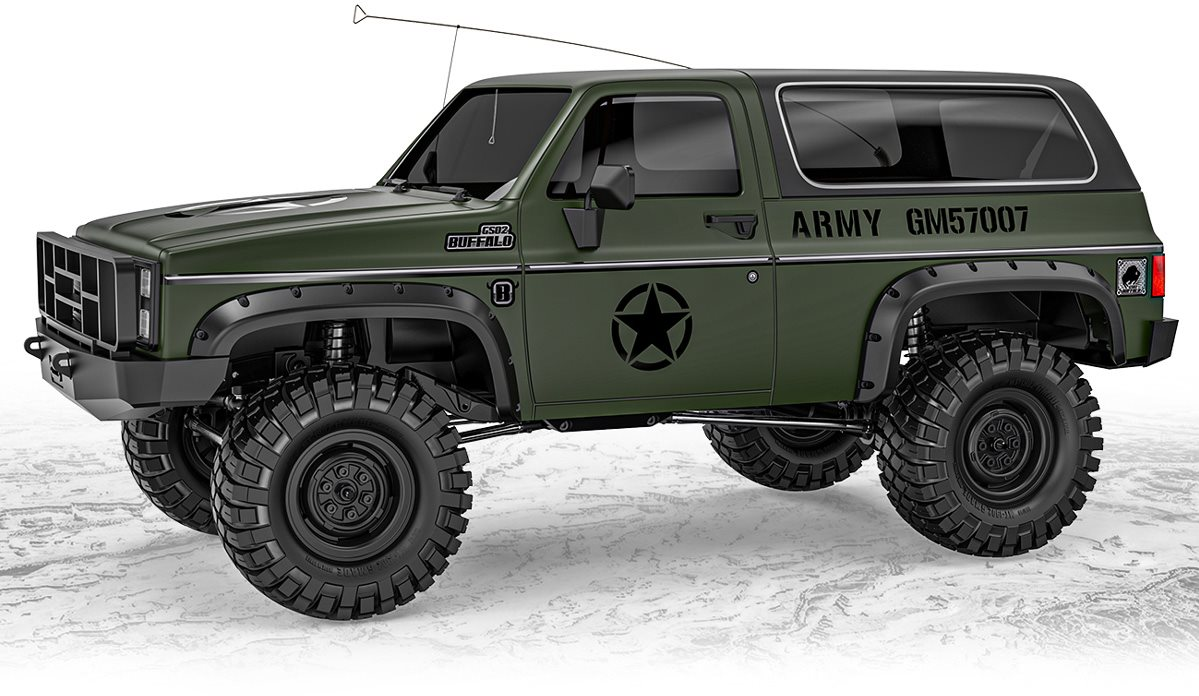 Gmade  1/10 Gs02f Military Buffalo Ts Kit