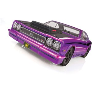 Associated Dr10 Drag Race Car, 1/10 Brushless 2Wd Rtr, Purple