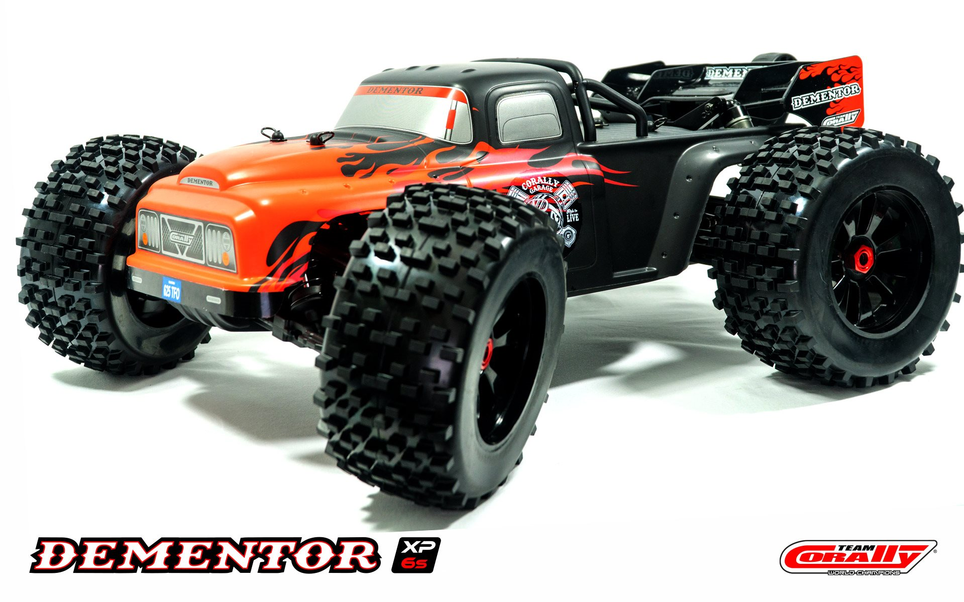Team Corally 1/8 Dementor Xp 6S 4Wd Monster Truck Brushless Rtr (No Battery O