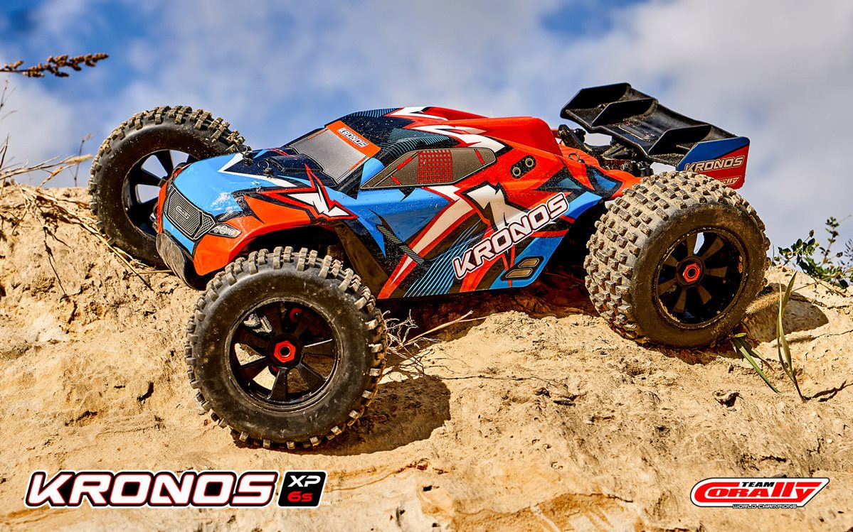 Team Corally 1/8 Kronos Xp 4Wd Monster Truck 6S Brushless Rtr (No Battery Or