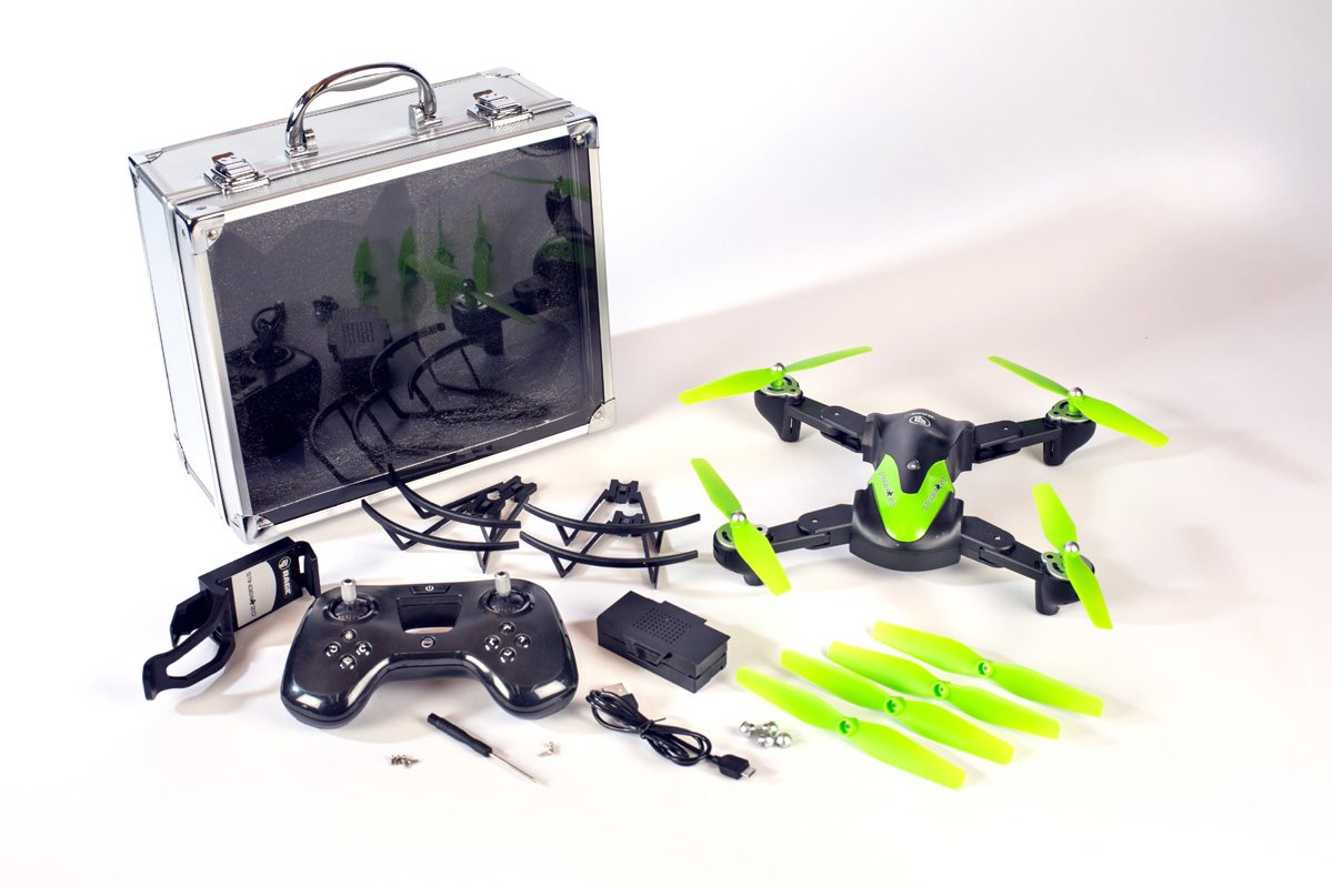 Rage RC Stinger 2.0 Rtf Wifi Fpv Drone W/1080P Hd Camera