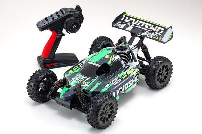 Kyosho Inferno Neo 3.0 Readyset Rtr 1/8 Nitro 4Wd Rally Sport Buggy, Gr