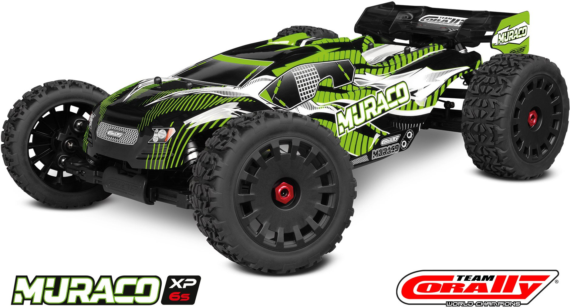 Team Corally Muraco Xp 6S 1/8 Truggy Lwb Rtr Brushless Power 6S