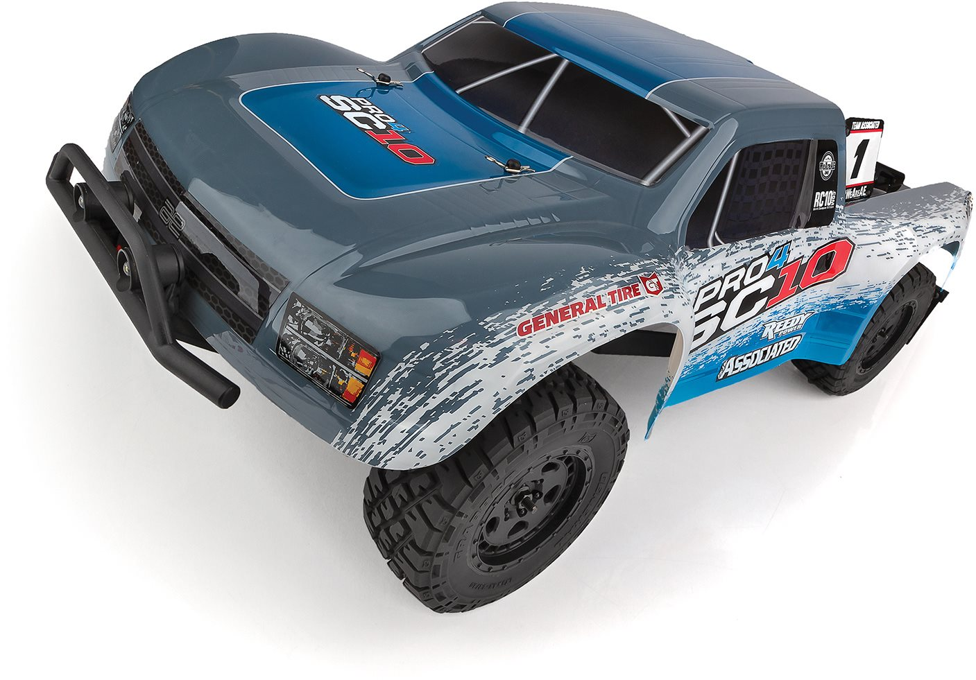 Associated Pro4 Sc10 Off-Road 1/10 4Wd Electric Short Coarse Truck Rtr