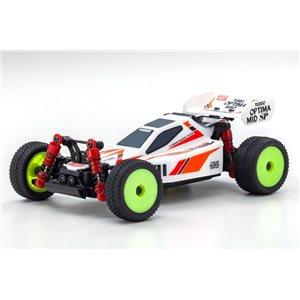 Kyosho Mini-Z Buggy Readyset Turbo Optima Mid Special White