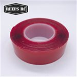 Reefs RC 9' Long Servo Tape Double Sided Clear