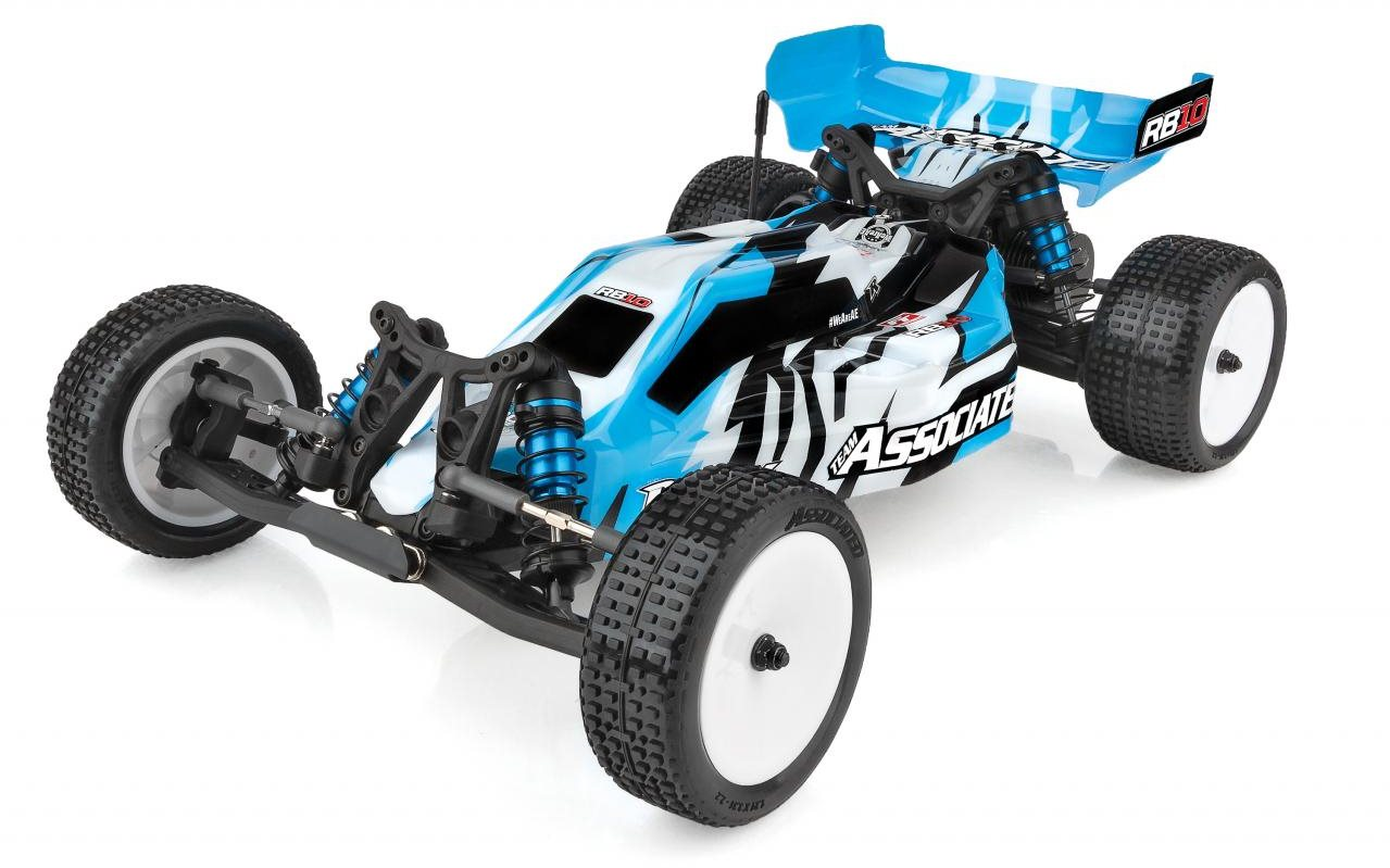 Associated Rb10 1/10 Electric Off-Road 2Wd Buggy Rtr, Blue