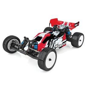 Associated Rb10 1/10 Electric Off-Road 2Wd Buggy Rtr W/ Charger & Lipo, Red