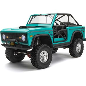Axial 1/10 SCX10 III Early Ford Bronco 4WD RTR, Turquoise Blue