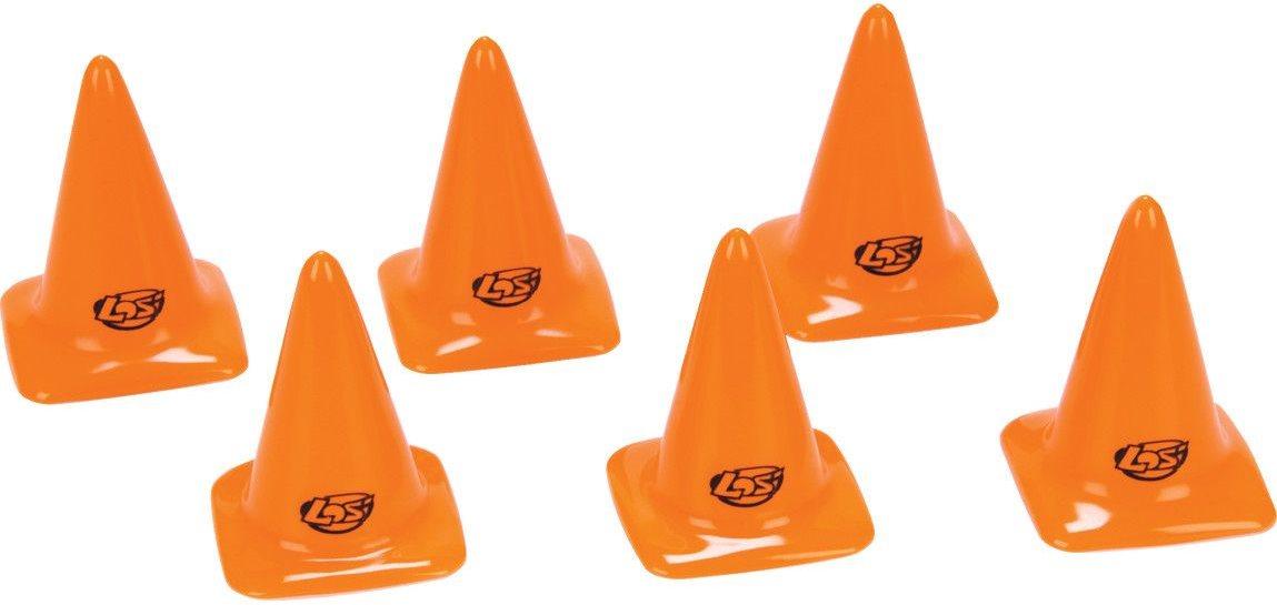 """Losi Course/Track Cones, Orange 2.75\"""" (6)"""