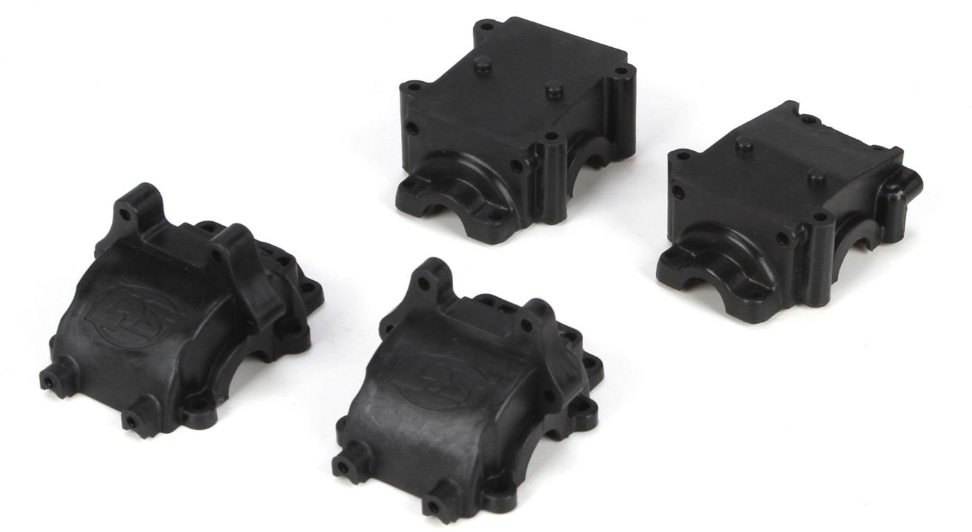 Losi Front: Rear Gearbox Set: Mini 8IGHT