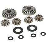 Internal Diff Gears & Shims (6):5IVE-T, MINI WRC