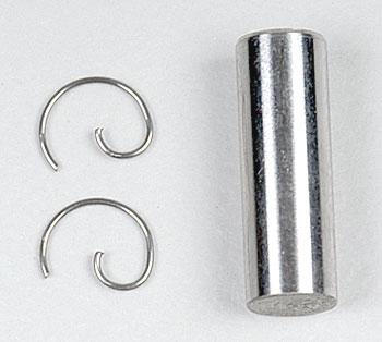 Traxxas Wrist Pin/Wrist Pin Clips TRX 2.5 (2)