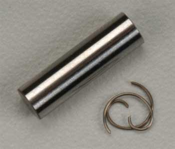 Traxxas Wrist Pin, Wrist Pin Clips (2) TRX 3.3