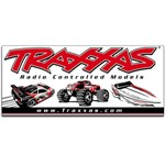 Traxxas Racing Banner Red/Black 3X7'