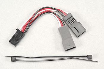 Traxxas Servo Connector, Y-Adapter For Dual-Servo Steering  Revo