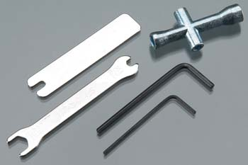 Traxxas Tool Set- Wrench, Allen, Lug & U-Joint Wrenches