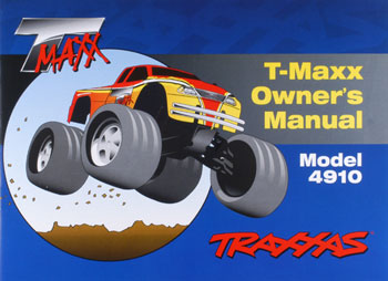 Traxxas Owner\'s Manual T-Maxx 2.5