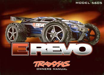 Traxxas Owners Manual E-Revo