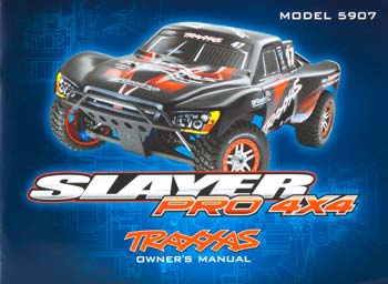 Traxxas Owners Manual Slayer Pro 4x4