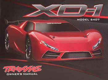 Traxxas Owner\'s Manual XO-1