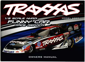 Traxxas Owners Manual Eliminator