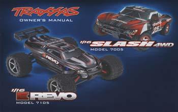 Traxxas Owners Manual 1/16 E-Revo/Slash