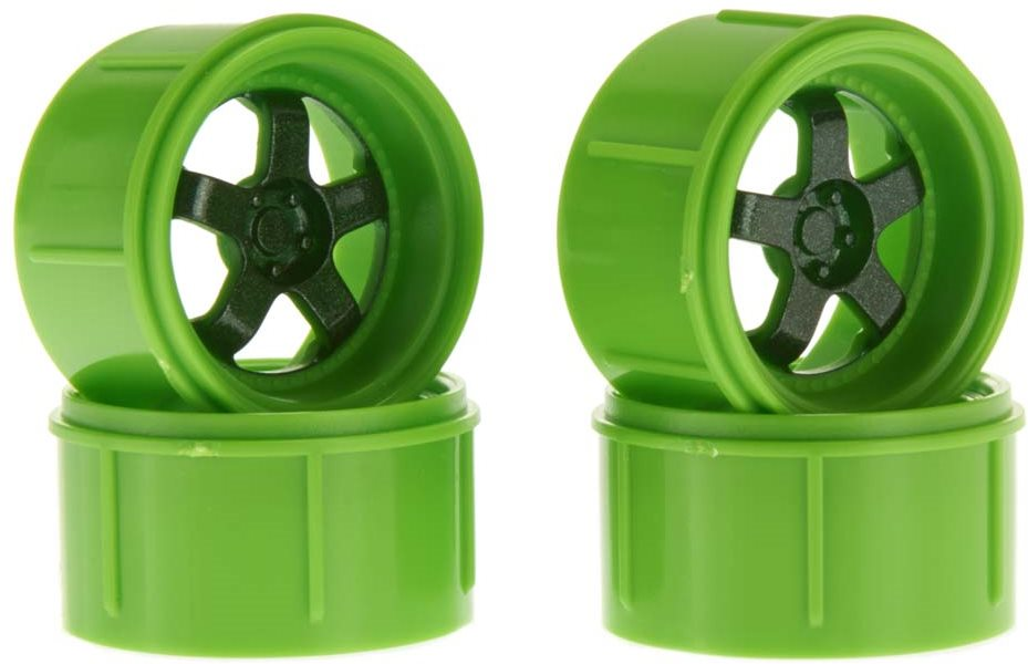HPI Work Meister S1 Wheel Green Micro RS4 (4)